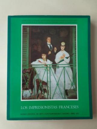 Los impresionistas franceses. Catálogo Exposición Museo Español de Arte Contemporáneo, Madrid, 1971 - Ver os detalles do produto