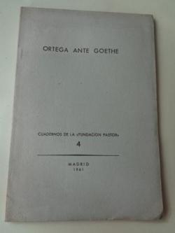 Ver os detalles de:  Ortega ante Goethe.