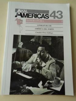 Ver os detalles de:  Literatura de América del Norte. Literatura I