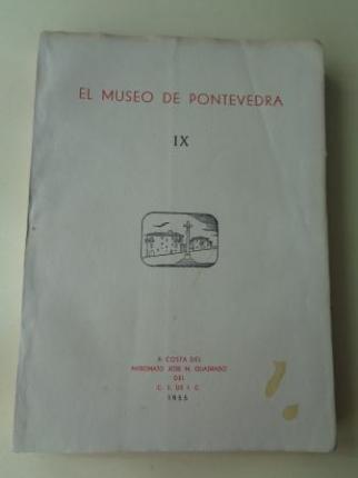 EL MUSEO DE PONTEVEDRA, IX (1955) - Ver los detalles del producto