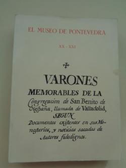 Ver os detalles de:  EL MUSEO DE PONTEVEDRA, XX - XXI. Varones memorables de la Congregación de San Benito (1966 - 1967)