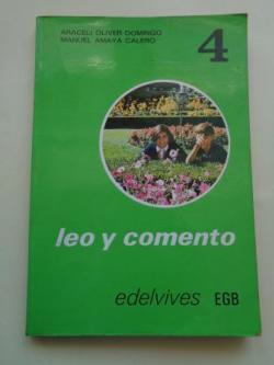 Ver os detalles de:  Leo y comento 4 (Edelvives, 1974)