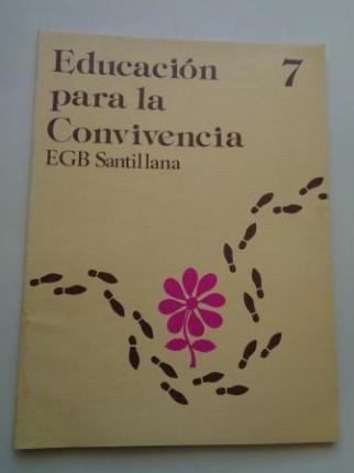 Educación para la Convivencia 7. EGB. Santillana, 1977 - Ver os detalles do produto