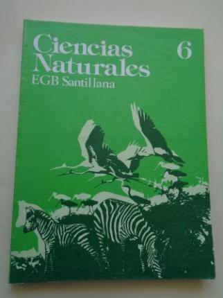 Ciencias Naturales 6. EGB (Santillana, 1977) - Ver los detalles del producto