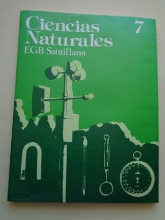 Ciencias Naturales 7. EGB (Santillana, 1977) - Ver os detalles do produto