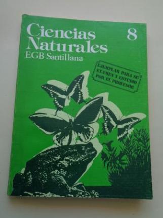 Ciencias Naturales 8. EGB (Santillana, 1977) - Ver os detalles do produto