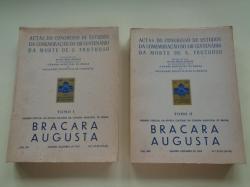 Ver os detalles de:  BRACARA AUGUSTA. Janeiro-Dezembro 1967. 2 tomos. Actas do Cogresso de Estudos da Comemoraçâo de XII Centenário da morte de S. Frutuoso