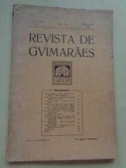 Ver os detalles de:  REVISTA DE GUIMARÂES. Janeiro - Junho 1942 (Vol. LII - Números 1 -2)