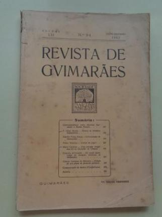 REVISTA DE GUIMARÂES. Julho - Dezembro 1942 (Vol. LII - Números 3 -4) - Ver os detalles do produto
