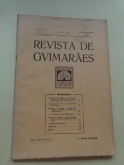 Ver os detalles de:  REVISTA DE GUIMARÂES. Julho - Dezembro 1945 (Vol. LV - Números 3 -4)