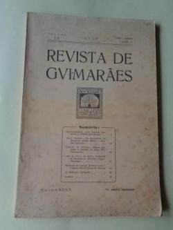 Ver os detalles de:  REVISTA DE GUIMARÂES. Janeiro - Junho 1945 (Vol. LV - Números 1 -2)