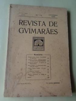 Ver os detalles de:  REVISTA DE GUIMARÂES. Julho - Dezembro 1946 (Vol. LVI - Números 3 -4)