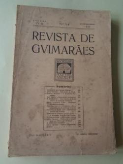 Ver os detalles de:  REVISTA DE GUIMARÂES. Julho - Dezembro 1948 (Vol. LVIII - Números 3 -4)