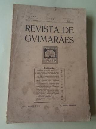 REVISTA DE GUIMARÂES. Julho - Dezembro 1948 (Vol. LVIII - Números 3 -4) - Ver os detalles do produto