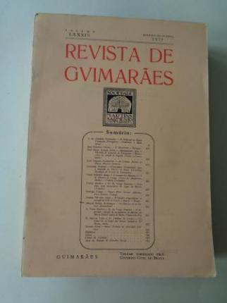 REVISTA DE GUIMARÂES. Janeiro - Dezembro 1979 ( Vol. LXXXIX)  - Ver os detalles do produto