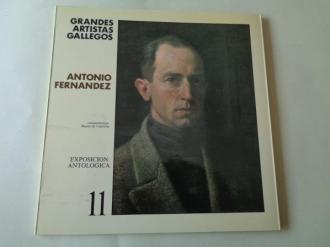 ANTONIO FERNÁNDEZ. Catágolo Exposición antológica, Vigo,1986 - Ver los detalles del producto