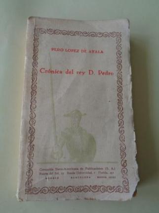 Crónica del rey D. Pedro - Ver os detalles do produto