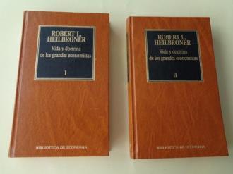 Vida y doctrina de los grandes economistas. 2 tomos - Ver os detalles do produto