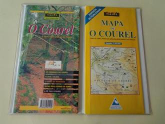 O Courel. A serra das aldeas de lousa. Guía e mapa Escala 1: 50.000 - Ver os detalles do produto