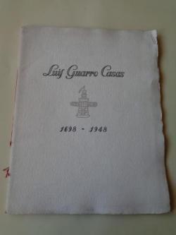Ver os detalles de:  Luis Guarro Casas 1698-1948. Fascículo conmemorativo 25O Aniversario + Circular de la empresa. Una manufactura de papel del siglo XVII y sus precedentes