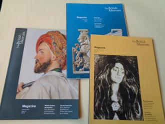 The British Museum. 3 Magazine. 2018-2019 - Ver os detalles do produto