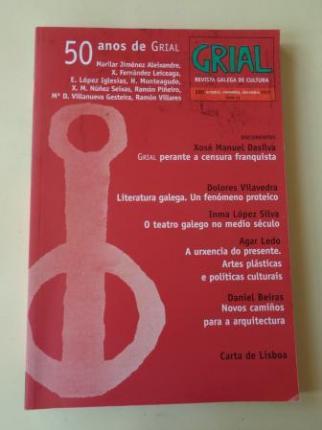 GRIAL. Revista galega de cultura. Nº 200. Outubro, novembro, decembro 2013: 50 anos de Grial - Ver os detalles do produto