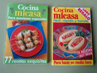 Cocina Micasa para ocasiones especiales. 77 recetas exquisitas / Cocina Micasa fácil, rápida y barata - Ver os detalles do produto