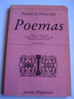 Ver os detalles de:  Poemas. Edición bilingüe alemán-castellano