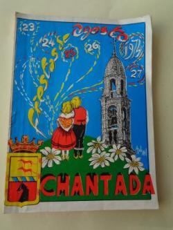 Ver os detalles de:  Programa Fiestas de Agosto Chantada (Lugo) 1974