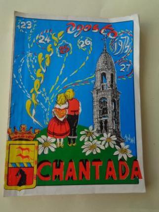 Programa Fiestas de Agosto Chantada (Lugo) 1974 - Ver los detalles del producto