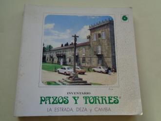 Inventario de pazos y torres, volumen 6: La Estrada, Deza y Camba - Ver os detalles do produto