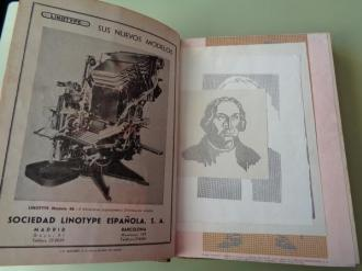 GRÁFICAS. Revista de las Técnicas del Libro. Año 1951 completo (Números 79 a 90) - Ver los detalles del producto