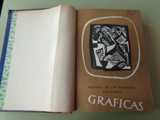 GRÁFICAS. Revista de las Técnicas del Libro. Año 1952 completo (Números 91 a 102) - Ver los detalles del producto