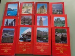 Ver os detalles de:  Galicia enteira. Colección completa. 12 tomos. Guías con rutas e mapas