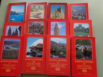 Galicia enteira. Colección completa. 12 tomos. Guías con rutas e mapas - Ver os detalles do produto