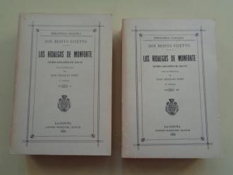 Los hidalgos de Monforte. 2 tomos (edición facsímil) - Ver os detalles do produto