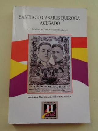 Santiago Casares Quiroga acusado (texto en castellano) - Ver os detalles do produto