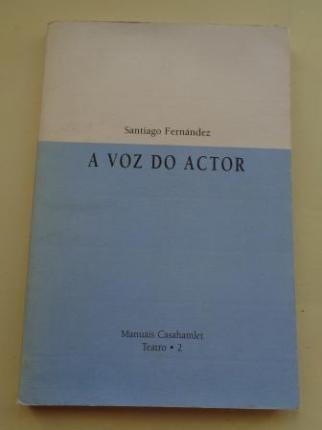 A voz do actor - Ver los detalles del producto