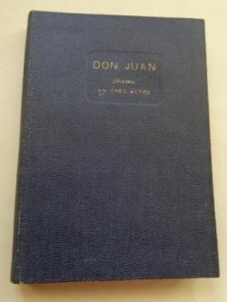 Ver os detalles de:  Don Juan (ensayo dramático)