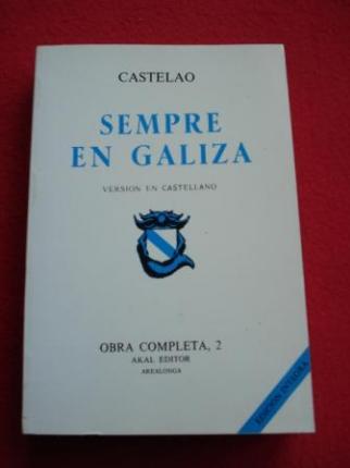 Sempre en Galiza (Versión en castellano). Obra completa, 2 - Ver os detalles do produto
