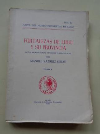 Fortalezas de Lugo y su provincia (Notas arqueológicas, históricas y genealógicas). Tomo V - Ver os detalles do produto