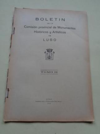 Boletín de la Comisión Provincial de Monumentos Históricos y Artísticos de Lugo. Número 13, Primer trimestre de 1945 - Ver os detalles do produto