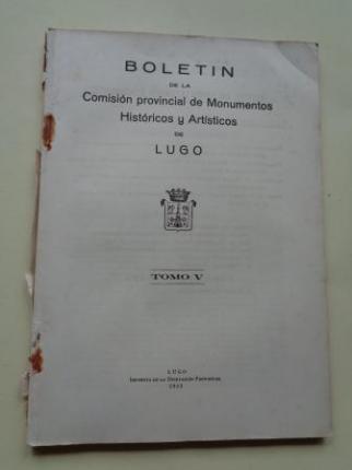 Boletín de la Comisión Provincial de Monumentos Históricos y Artísticos de Lugo. Números 37 y 38, Primer y segundo trimestre de 1952 - Ver los detalles del producto