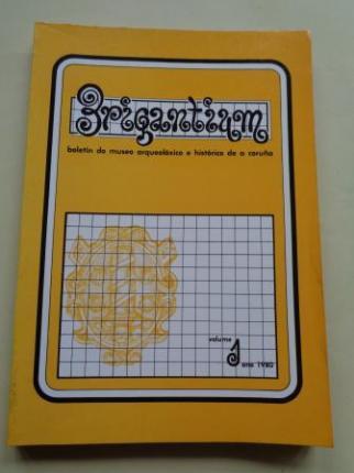 BRIGANTIUM. Boletín do Museo Arqueolóxico e Histórico de A Coruña. Volume 1, ano 1980 - Ver los detalles del producto
