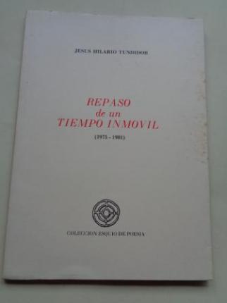 Repaso de un tiempo inmóvil (1975-1981) - Ver os detalles do produto