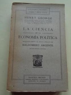 Ver os detalles de:  La ciencia de la economía política
