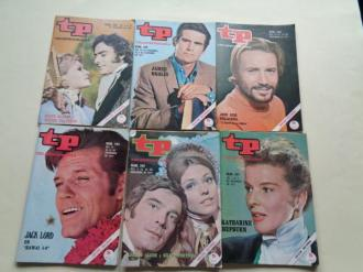 TELEPROGRAMA. 6 revistas. Noviembre-Diciembre, 1971 - Ver los detalles del producto