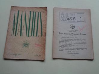 REVISTA DE MANDOS DEL FRENTE DE JUVENTUDES. Nº 11: Noviembre (sin tapas), 1942 - Nº 24: Diciembre, 1943 - Ver los detalles del producto
