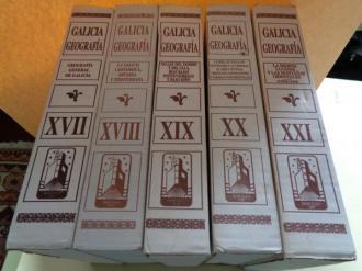 GALICIA. GEOGRAFÍA (5 Tomos). Editorial Hércules - Ver os detalles do produto