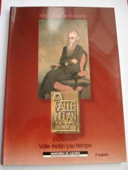 Ver os detalles de:  Valle-Inclán y su tiempo hoy. Exposición Valle-Inclán y su tiempo. 1986 Cincuentenario